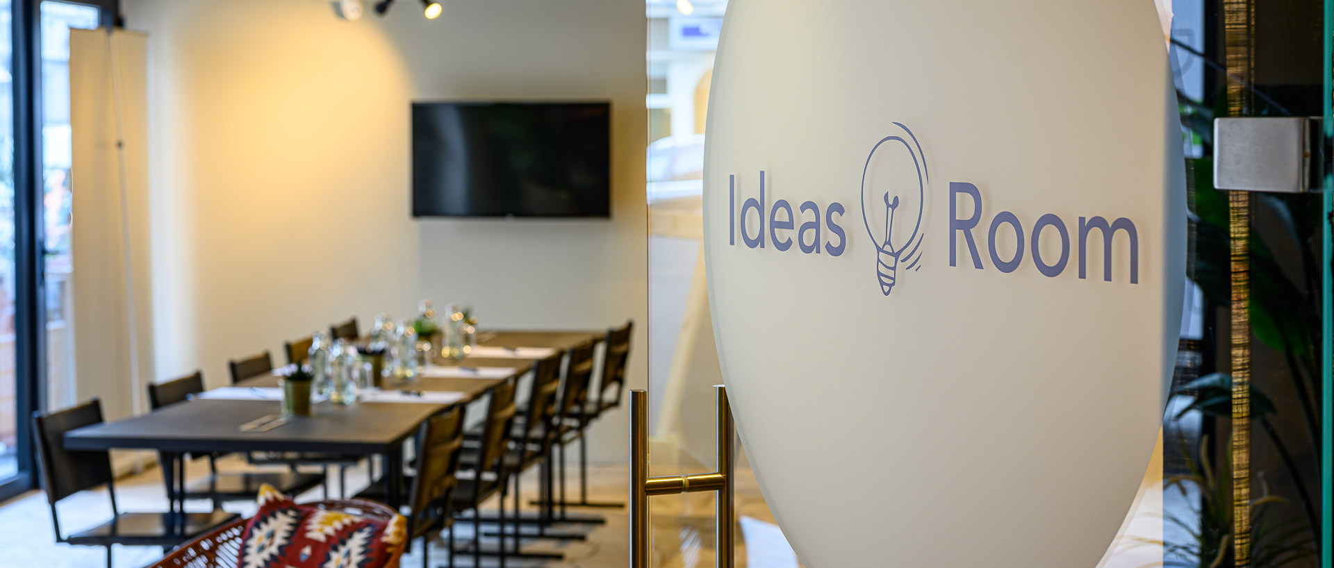 Ideas room at PREMIER SUITES PLUS Antwerp