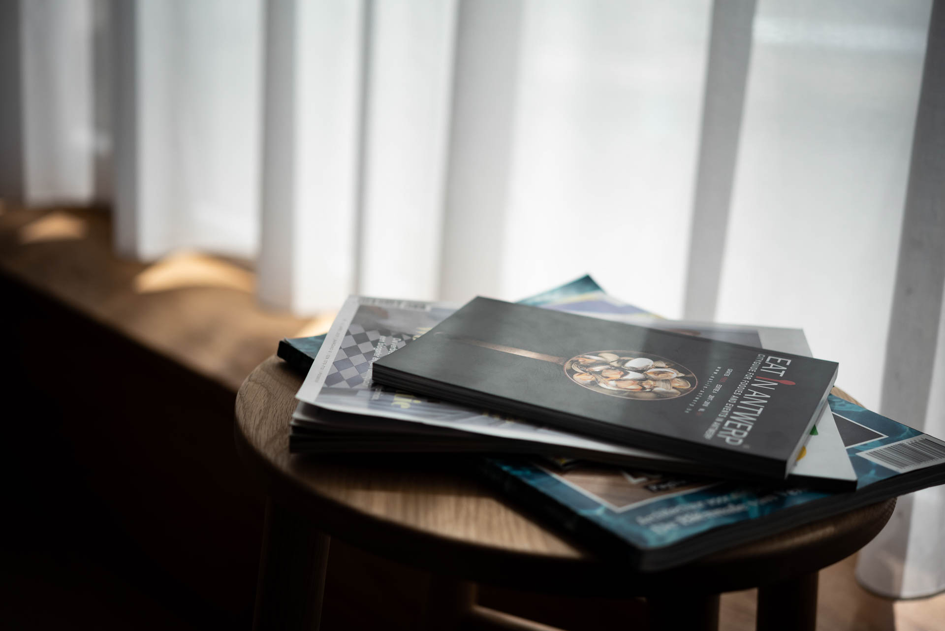 Magazine and reading selection PREMIER SUITES Antwerp