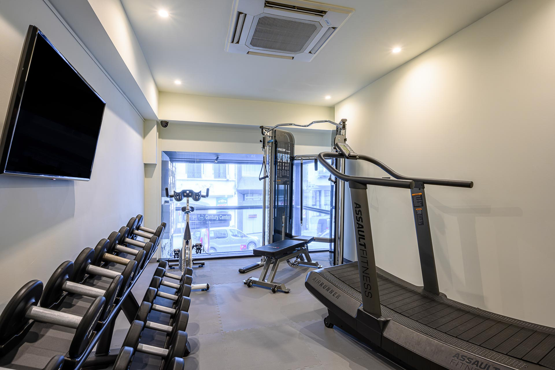 Hotel fitness in Antwerpen