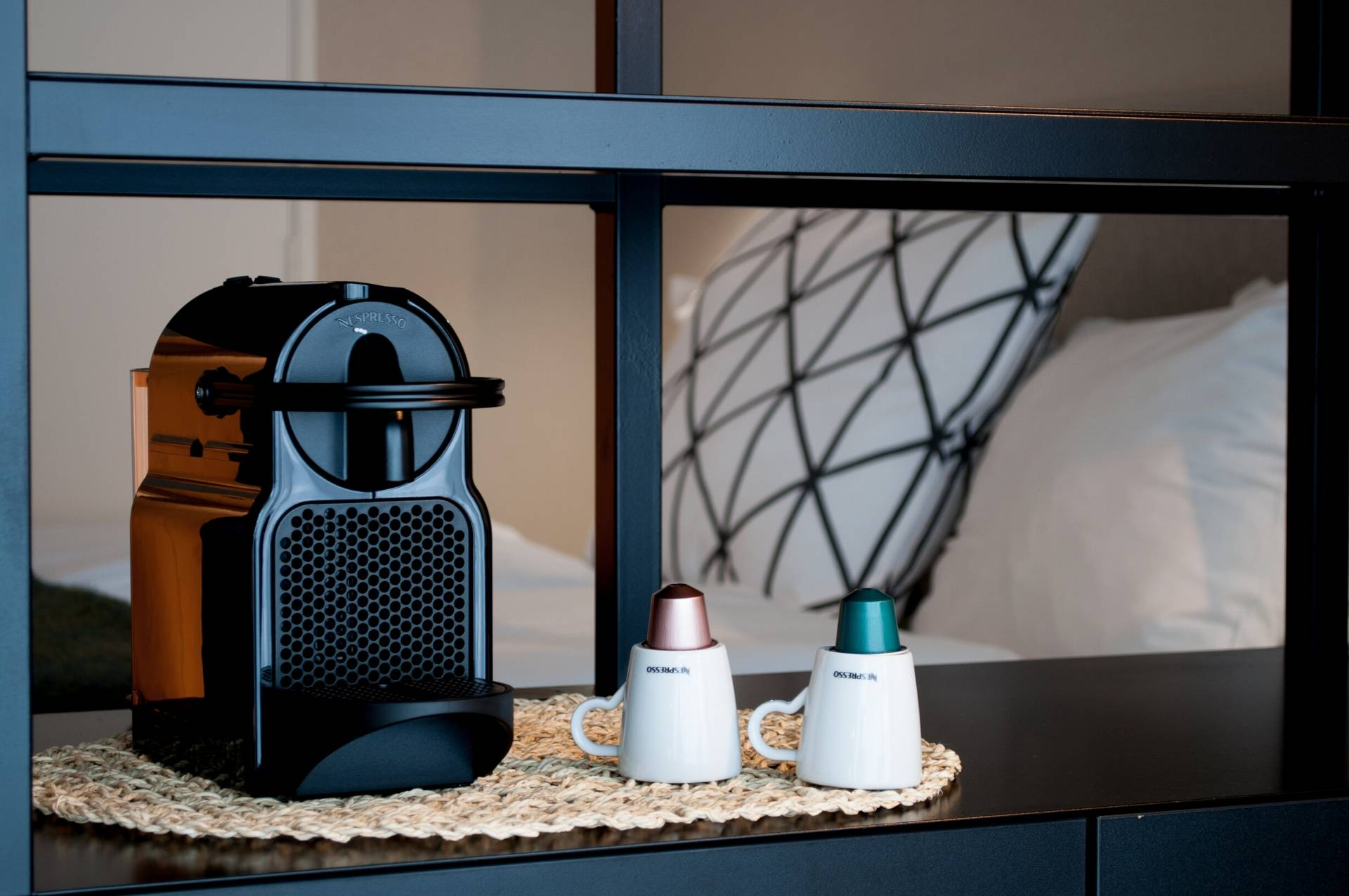 Nespresso Koffie Machine in Deluxe Kamer